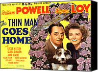 Fod Canvas Prints - The Thin Man Goes Home, William Powell Canvas Print by Everett