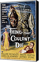 1950s Movies Canvas Prints - The Thing That Couldnt Die, 1958 Canvas Print by Everett
