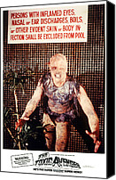 Horror Fantasy Movies Canvas Prints - The Toxic Avenger, Mitch Cohen, 1985 Canvas Print by Everett