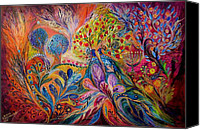 Signed Photo Canvas Prints - The Trees of Eden Canvas Print by Elena Kotliarker