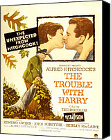 1955 Movies Canvas Prints - The Trouble With Harry, Shirley Canvas Print by Everett