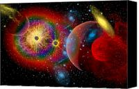 Portal Canvas Prints - The Universe In A Perpetual State Canvas Print by Mark Stevenson