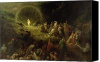 Christianity Canvas Prints - The Valley of Tears Canvas Print by Gustave Dore