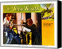 1959 Movies Canvas Prints - The Wasp Woman, From Left Anthony Canvas Print by Everett