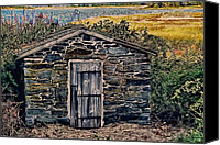 Autumn Photographs Canvas Prints - The Water Shed Canvas Print by Tom Prendergast