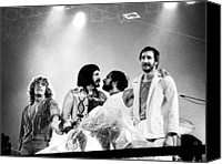 Roger Canvas Prints - The Who 1976 Canvas Print by Chris Walter