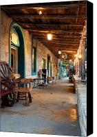 Wimberley Canvas Prints - The Wimberley Square  Canvas Print by Robert Anschutz