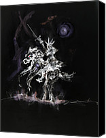 Moria Canvas Prints - The Witch King Canvas Print by Joe  Gilronan