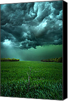 Green Canvas Prints - There Came a WInd Canvas Print by Phil Koch