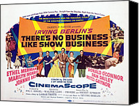 1950s Movies Canvas Prints - Theres No Business Like Show Business Canvas Print by Everett