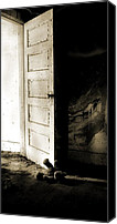 Ghost Story Canvas Prints - Theres Something In My Room... Canvas Print by Nyla Alisia