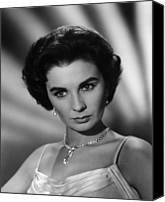 1959 Movies Canvas Prints - This Earth Is Mine, Jean Simmons, 1959 Canvas Print by Everett