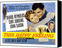 Fid Canvas Prints - This Happy Feeling, Debbie Reynolds Canvas Print by Everett