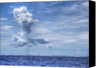 Raining Canvas Prints - This is the Philippines No.11 - Towering Clouds Canvas Print by Paul W Sharpe Aka Wizard of Wonders