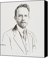 Important Canvas Prints - Thomas Hunt Morgan, American Geneticist Canvas Print by Science Source