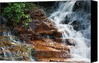 White River Scene Canvas Prints - Thoreau Falls - White Mountains New Hampshire  Canvas Print by Erin Paul Donovan