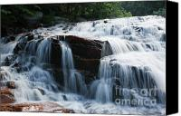 White River Scene Canvas Prints - Thoreau Falls - White Mountains New Hampshire USA Canvas Print by Erin Paul Donovan