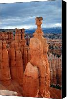 Thor Canvas Prints - Thors Hammer at Sunrise Bryce Canyon National Park Canvas Print by Brian M Lumley