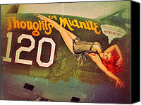 Noseart Canvas Prints - Thoughts of midnite Canvas Print by Shad Kingston