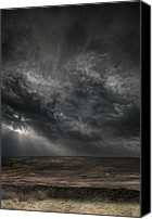 Sleet Canvas Prints - Threatening Skies Canvas Print by Andy Astbury