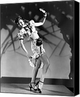 1946 Movies Canvas Prints - Thrill Of Brazil, Ann Miller, 1946 Canvas Print by Everett