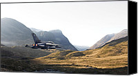 Jet Canvas Prints - Thunder in the Glen Canvas Print by Pat Speirs