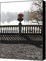 Balusters Canvas Prints - Ticino river Canvas Print by Cristina Lichti