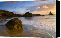 Headlands Canvas Prints - Tidal Flow Canvas Print by Mike  Dawson