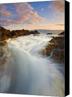 Paradise Canvas Prints - Tidal Surge Canvas Print by Mike  Dawson