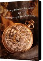 Fantasy Photo Canvas Prints - Time... Canvas Print by Arthur Miller