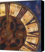 Time Canvas Prints - Time Askew Canvas Print by Barb Pearson