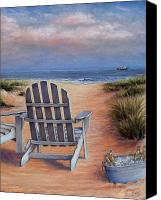 Landscape Pastels Canvas Prints - Time to Chill Canvas Print by Susan Jenkins