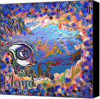 Crying Mixed Media Canvas Prints - Time To Rock Canvas Print by Kevin Caudill