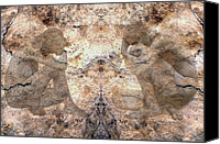 Rock Angels Canvas Prints - Timeless Canvas Print by Kurt Van Wagner