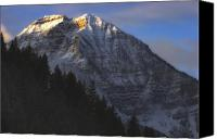 Craggy Canvas Prints - Timpanogos Dawn Canvas Print by Utah Images