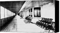 First-class Canvas Prints - Titanic: Promenade Deck Canvas Print by Granger