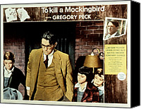 Posth Canvas Prints - To Kill A Mockingbird, Gregory Peck Canvas Print by Everett