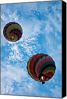 Balloon Fiesta Canvas Prints - To The Moon And Back Canvas Print by Ralf Kaiser