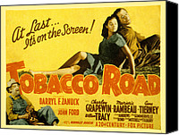 Fod Canvas Prints - Tobacco Road, Charley Grapewin, Aka Canvas Print by Everett