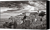 Fineartam Canvas Prints - Todi Canvas Print by Michael Avory