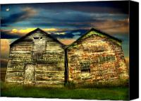 Sheds Canvas Prints - Together Until The End Canvas Print by Thomas Young