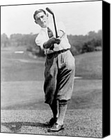 Sports Photo Canvas Prints - Tom Armour wins US golf title - c 1927 Canvas Print by International  Images