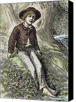 Tom Boy Canvas Prints - Tom Sawyer, 1876 Canvas Print by Granger
