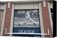 Ballpark Digital Art Canvas Prints - Tom Seaver 41 Canvas Print by Rob Hans