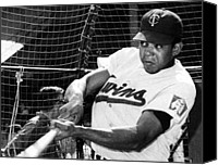 Minnesota Twins Canvas Prints - Tony Oliva Of The Minnesota Twins, 1967 Canvas Print by Everett