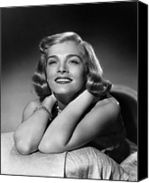 1949 Movies Canvas Prints - Too Late For Tears, Lizabeth Scott, 1949 Canvas Print by Everett