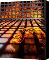 Flames Canvas Prints - Tormented Soul Canvas Print by Tom Mc Nemar