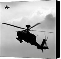 Tornado Canvas Prints - Tornado F3 and Apache Canvas Print by Angel  Tarantella