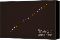 Solar Eclipse Canvas Prints - Total Solar Eclipse Sequence Canvas Print by Science Source