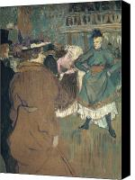 Nightclub Canvas Prints - Toulouse-lautrec, 1892 Canvas Print by Granger